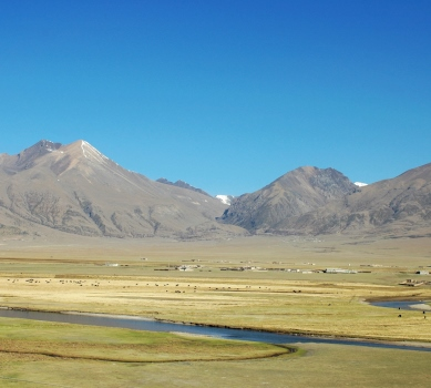 Chengdu - Lhasa ad Landevejen