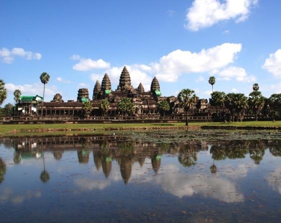 Det fantastiske Angkor Wat ved Siem Reap i Cambodia