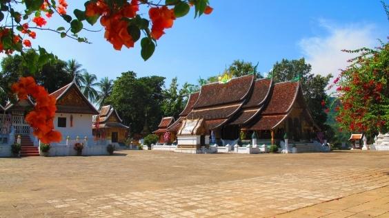 Wat Xieng Thong Templet i Luang Prabang, Laos
