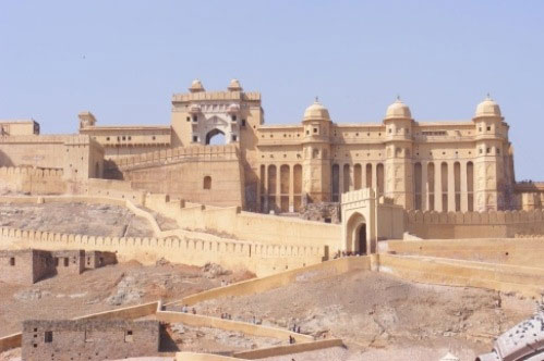 Tag til Indiens Gyldne Trekant, området omkring Delhi og Jaipur