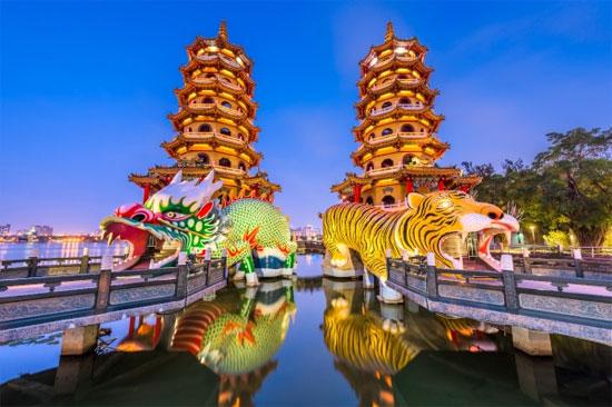 Rundrejse 7 dage i Taiwan med Sinex Rejser