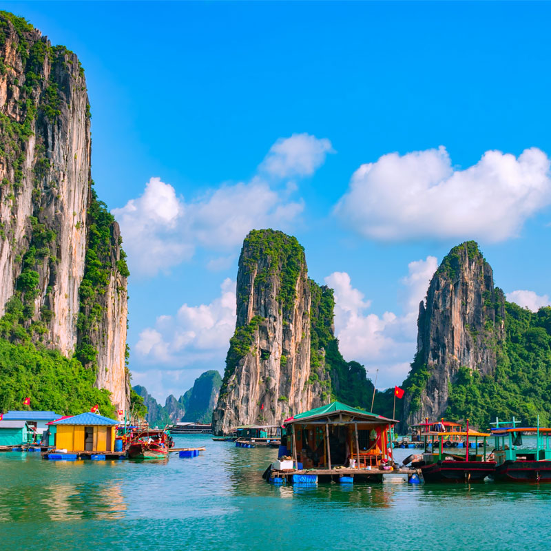 Tag på individuelle rejser i Vietnam, tilpasset dit behov