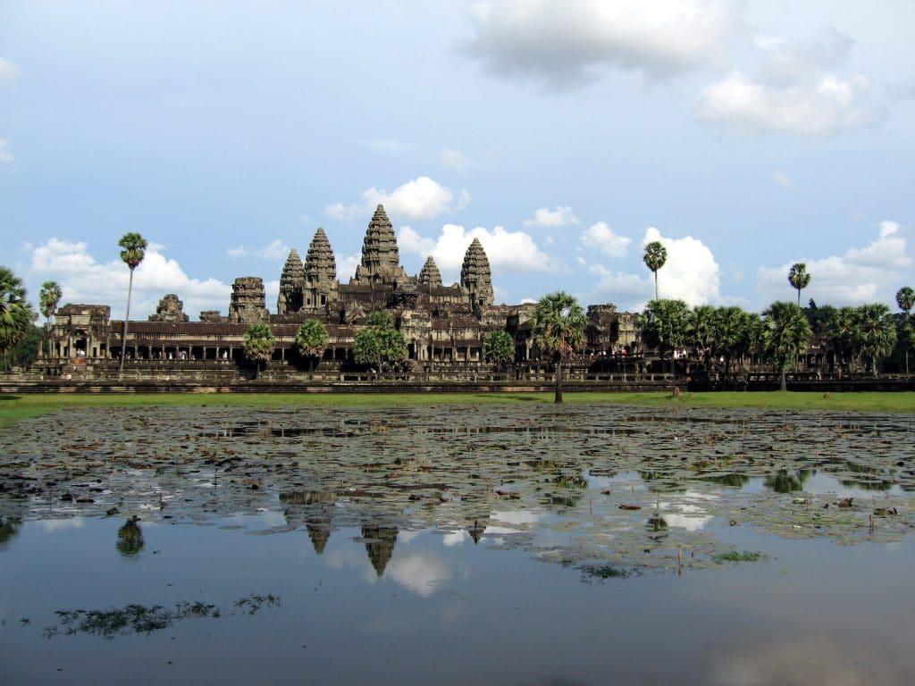 Angkor wat i Siam Reap Cambodia